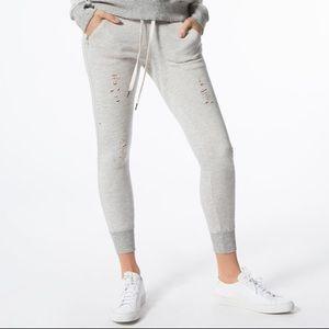 N:Philanthropy Deconstructed Grey Sweatpants